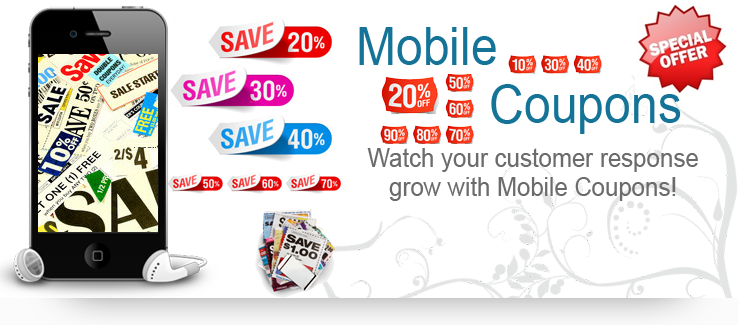 Mobile Coupons Png Grow With Mobile Coupons